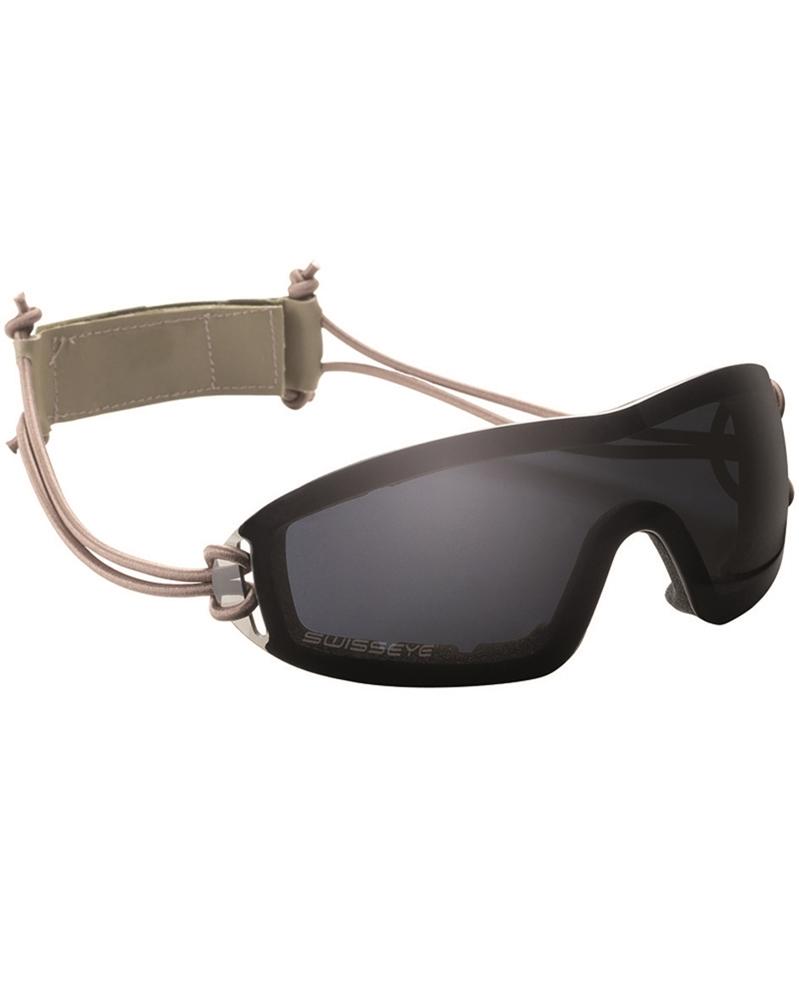 tactische brille swiss eye infantry smoke ebay. Black Bedroom Furniture Sets. Home Design Ideas