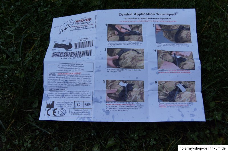 C-A-T CAT Combat Application Tourniquet IV ARMY USMC.North American Rescue.New.