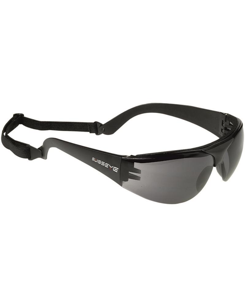 SCHUTZBRILLE SWISS EYE PROTECTOR SMOKE Augenschutz Brille BW.