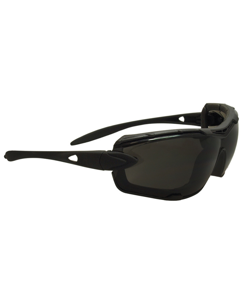SPORTBRILLE TACTISCHE BRILLE SWISS EYE DETECTION BLACK.