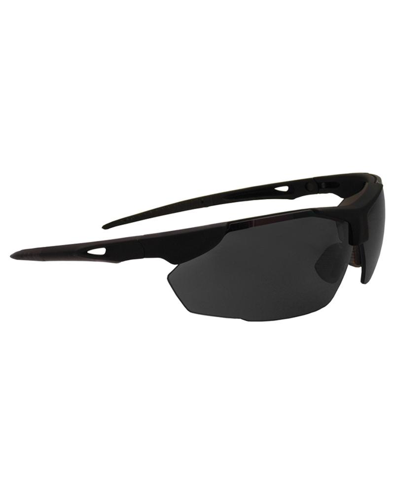 SWISS EYE SNOWSLIDE Schutzbrille Schießbrille Tactical BLACK Schwarz.
