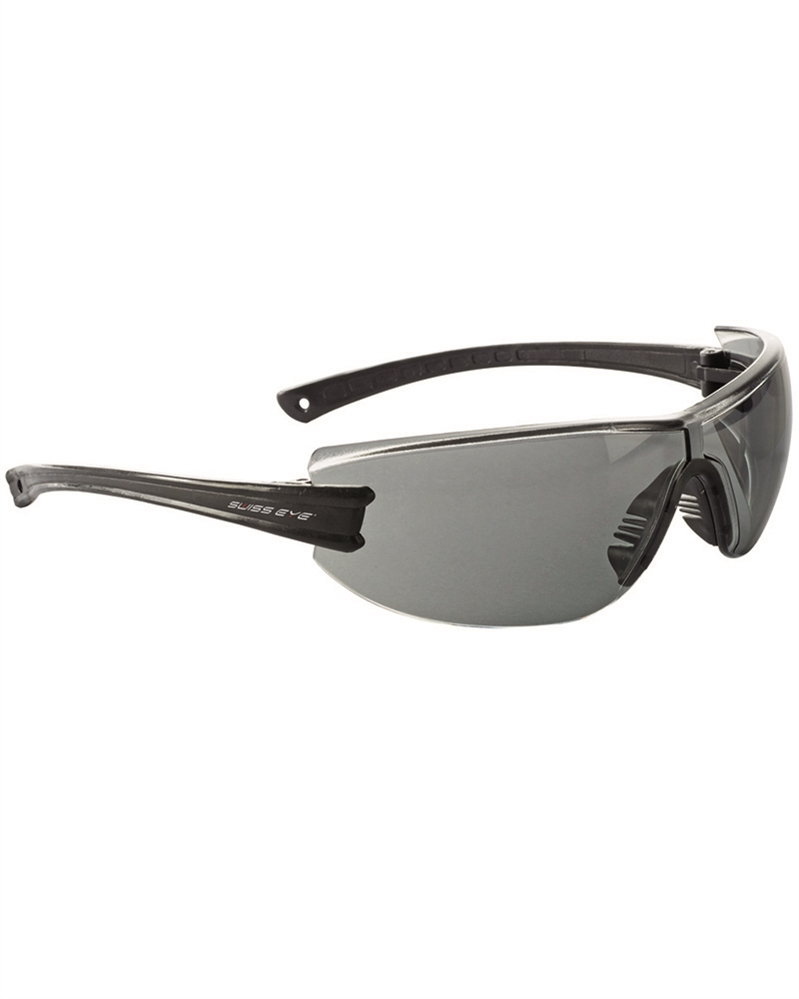 SWISS EYE F-22 Brille Sportbrille BLACK Schwarz Outdoor Security.