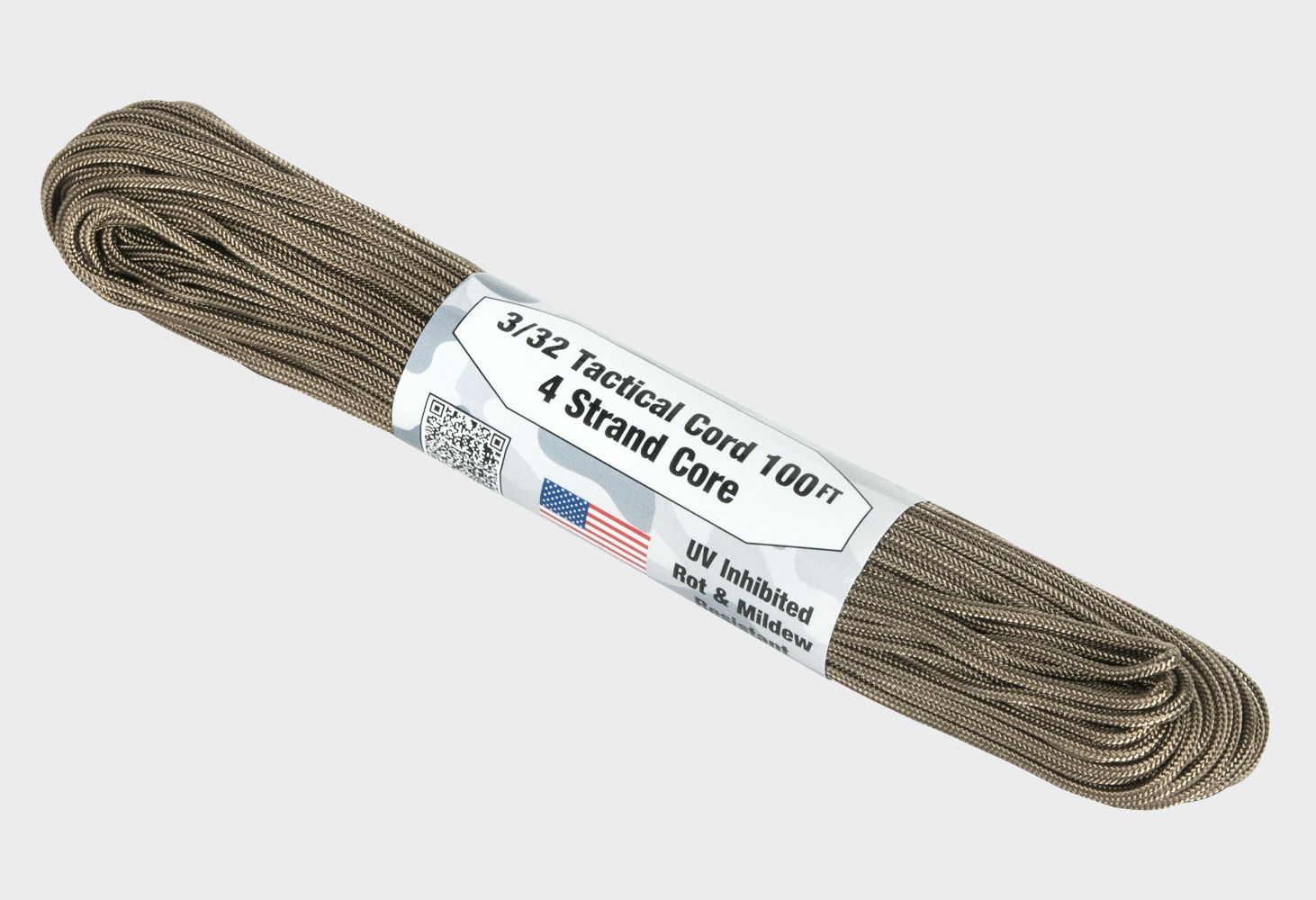 Paracord Cort 275 LBS. Cord  30,84 m (100ft) COYOTE.