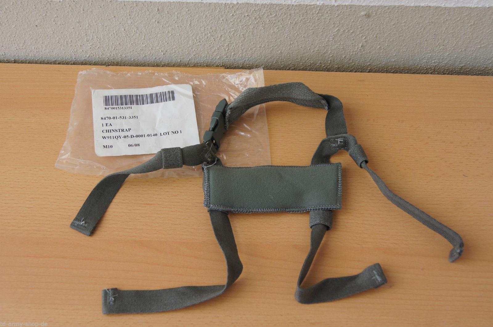 Original Army MICH ACH Helmet Chin Strap Multicam ACU. Size:One Size.
