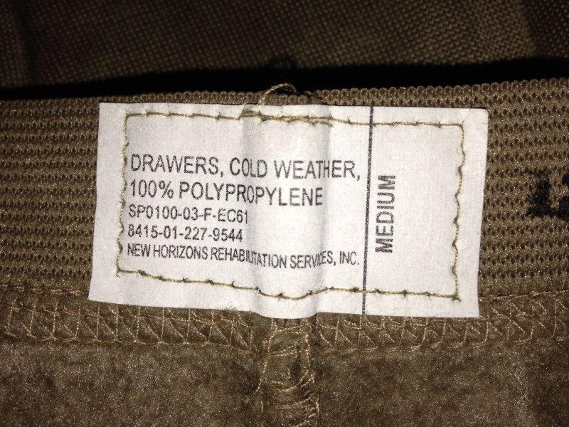 Original Army Cold Weather Hose Unterhose DRAWERS. Size:MEDIUM.