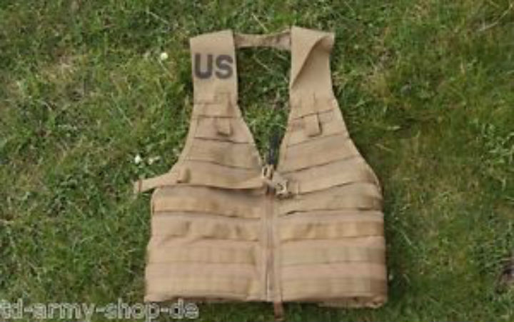 Coyote Molle II Modular Lightweight Weste Load Carrying Vest.