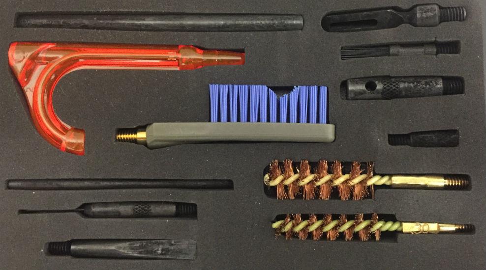 OTIS Weapon Cleaning Kit 7.62mm Reinigung Set with GERBER Multitool BW.