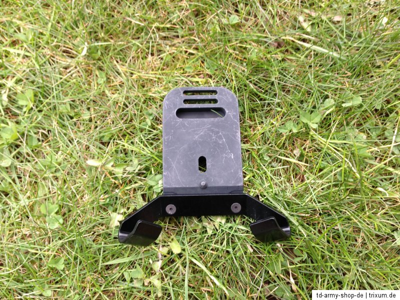 Original Army NVG Bracket Platte PASGT Mount Black Schwarz ACU. New.