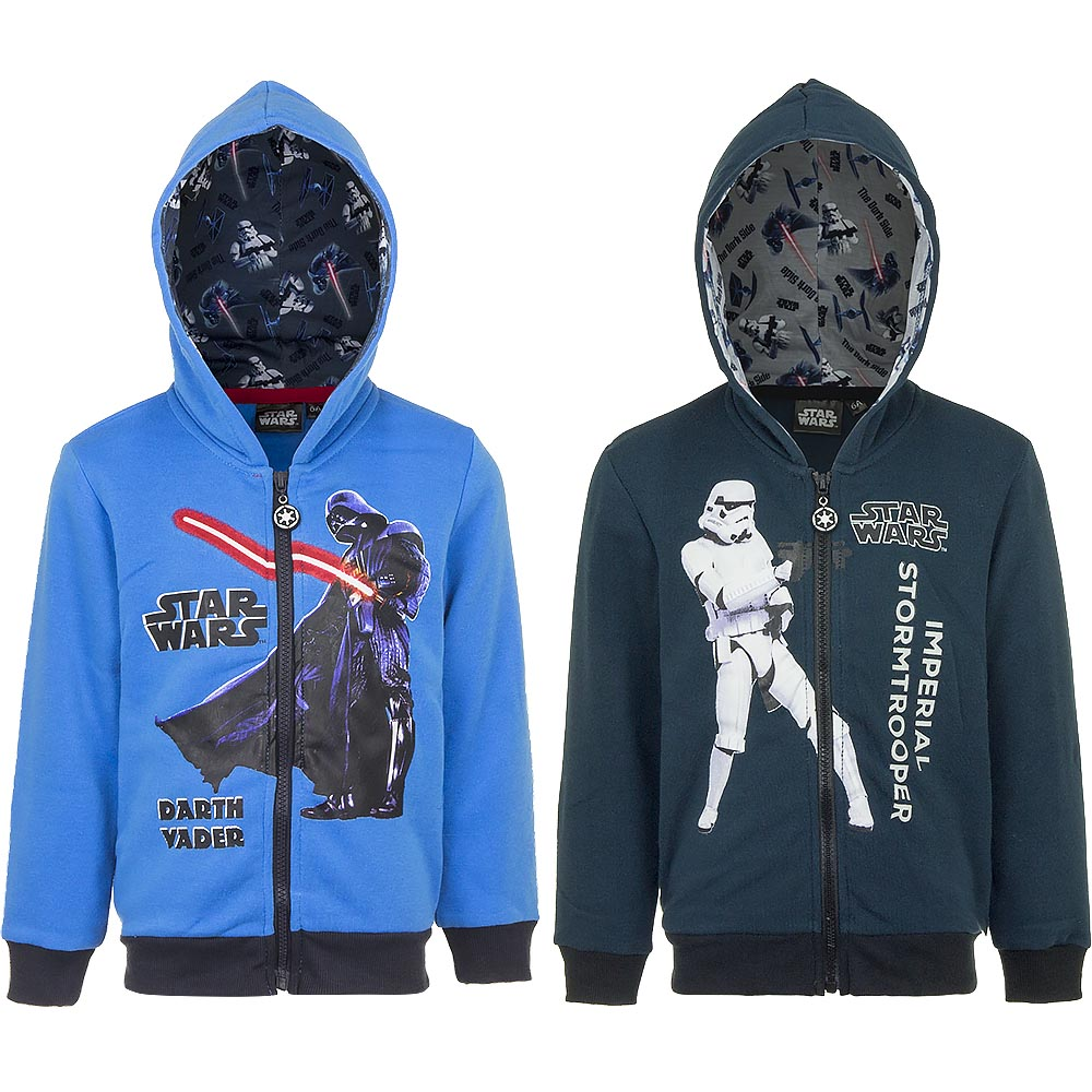 Star Wars Kapuzenjacke Jacket Kapuze Jungen 3-10 Jahre alt