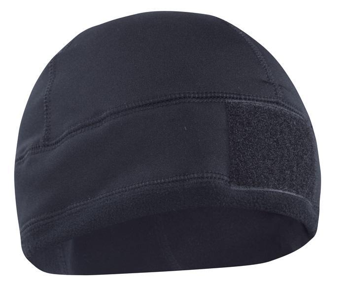 BW Einsatz Fleecemütze mit ID-Klettfläche WATCH CAP Fleece Black Schwarz.