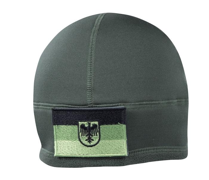 BW Einsatz Fleecemütze mit ID-Klettfläche WATCH CAP Fleece Foliage.