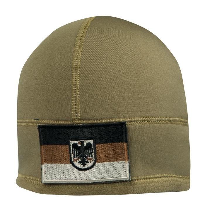 BW Einsatz Fleecemütze mit ID-Klettfläche WATCH CAP Fleece COYOTE.