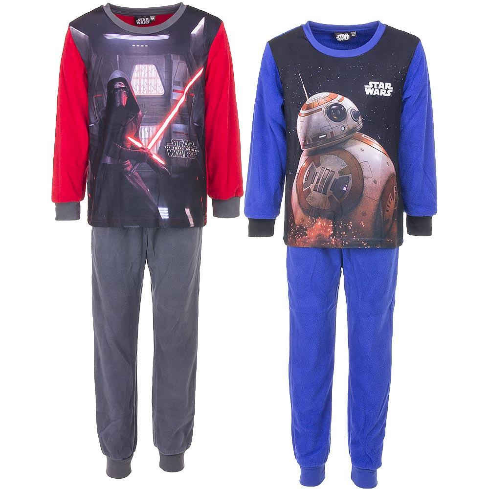 Star Wars Schlafanzug Polar-Fleece Jungen Einteiliger Schlafanzug 4-10 Jahre alt