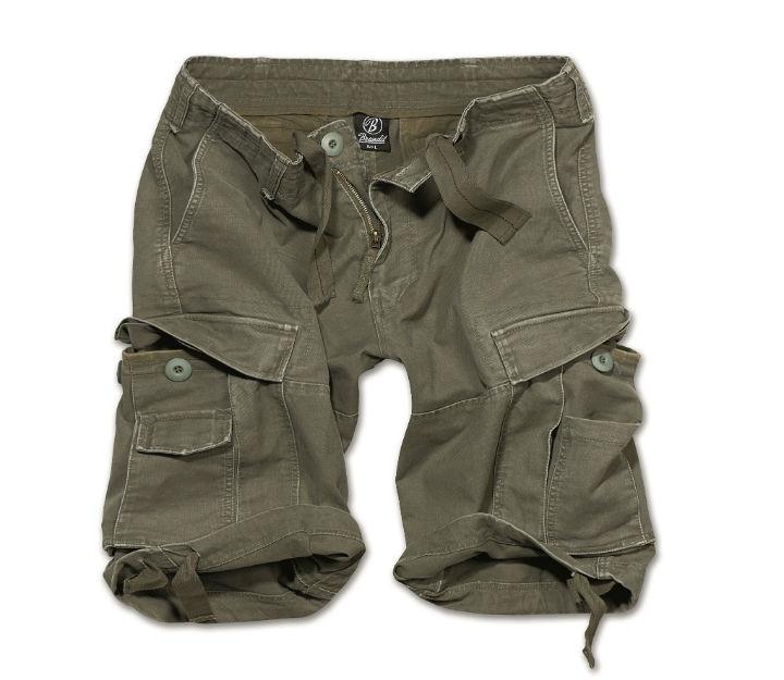BRANDIT Herren Shorts kurze Hose VINTAGE Classic Bermuda Armyshorts.