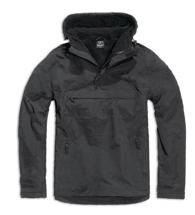 BRANDIT Windbreaker Jacke Jacket Winterjacke Übergangsjacke Schwarz.