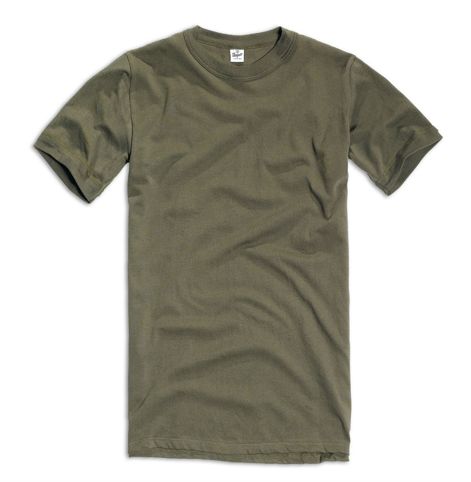 Original BW Shirt Bundeswehr Unterhemd nach TL T-Shirt Oliv.