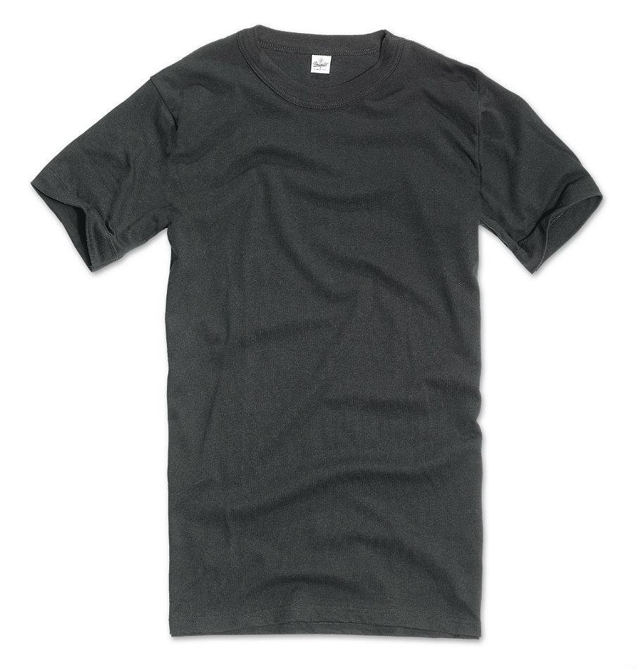 Original BW Shirt Bundeswehr Unterhemd nach TL T-Shirt Schwarz.
