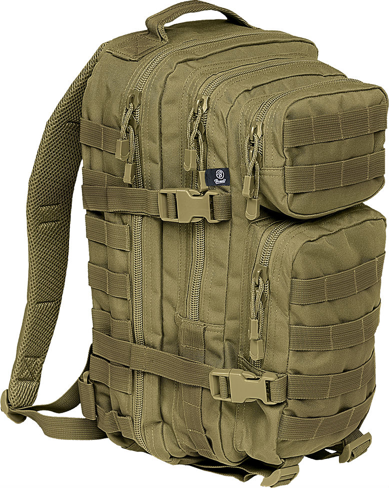 Brandit US Cooper PACK Backpack Rucksack ARMY OLIV Medium 8007.