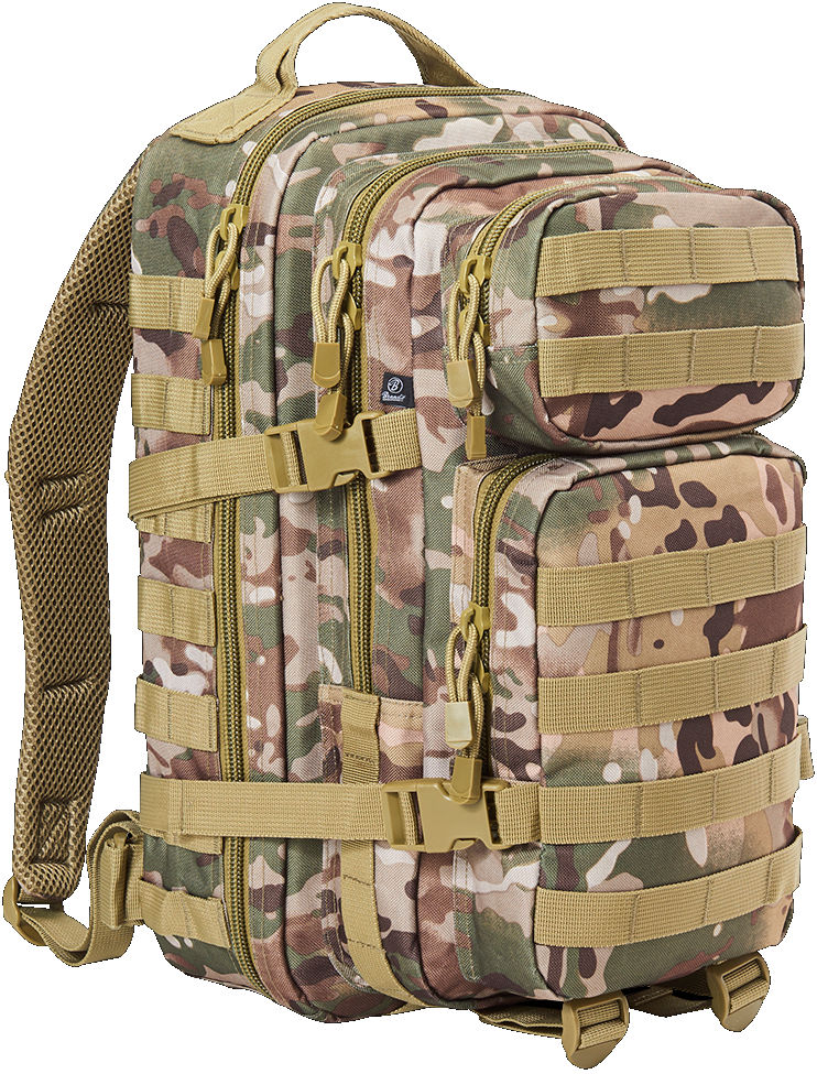 Brandit US Cooper PACK Backpack Rucksack Multicam Tactical Camo Medium 8007.