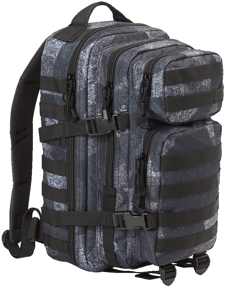 Brandit US Cooper PACK Backpack Rucksack Medium 8007 NIGHTCAMO.
