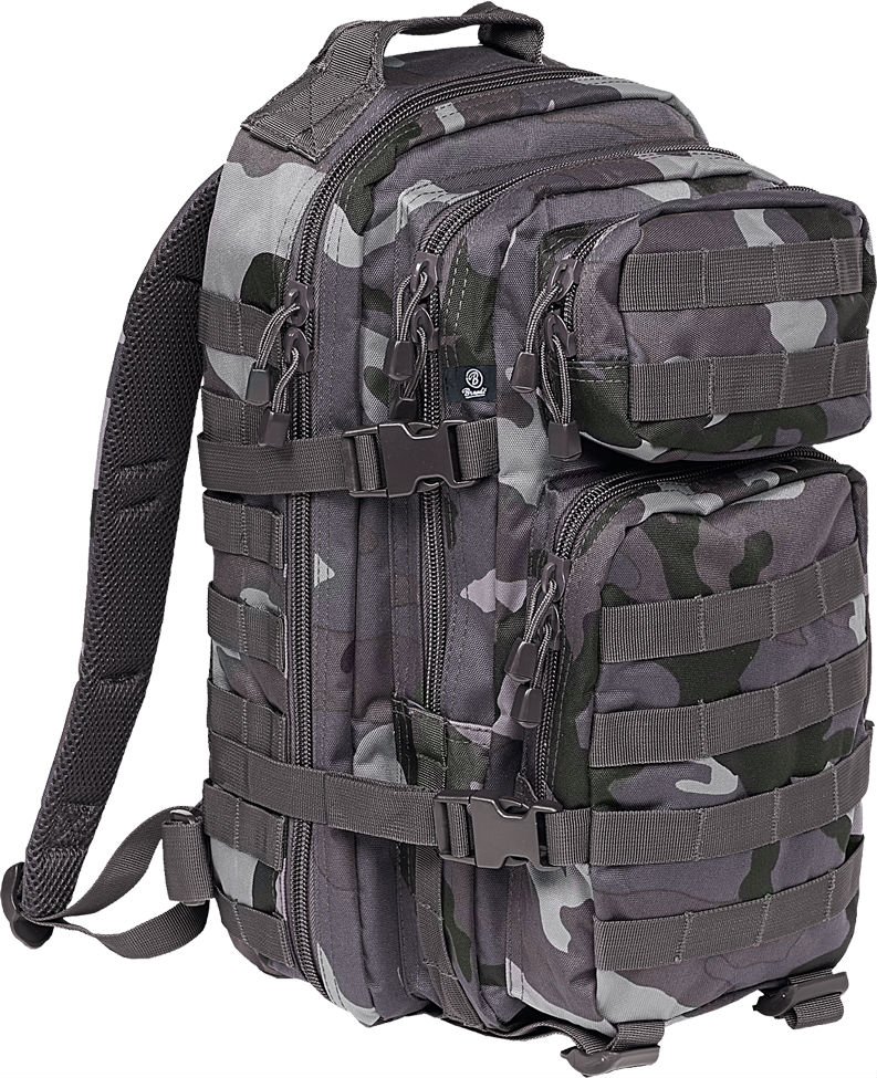 Brandit US Cooper PACK Backpack Rucksack ARMY Darkcamo Medium 8007.