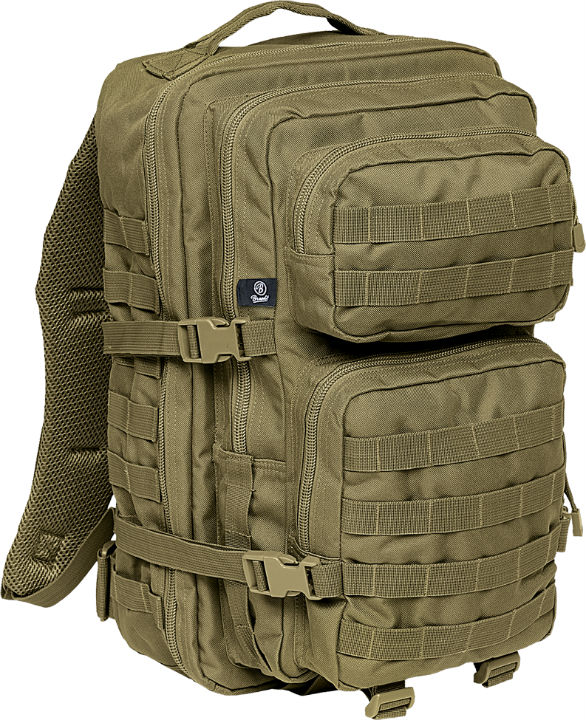Brandit US Cooper PACK OLIV USMC Backpack Rucksack LARGE Groß BW 8008.