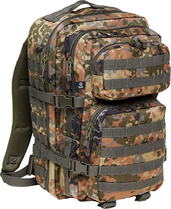 Brandit US Cooper PACK Flecktarn Backpack Rucksack LARGE Groß BW Bundeswehr.