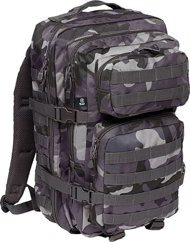 Brandit US Cooper PACK Darkcamo Backpack Rucksack LARGE Groß BW Dark Camo.