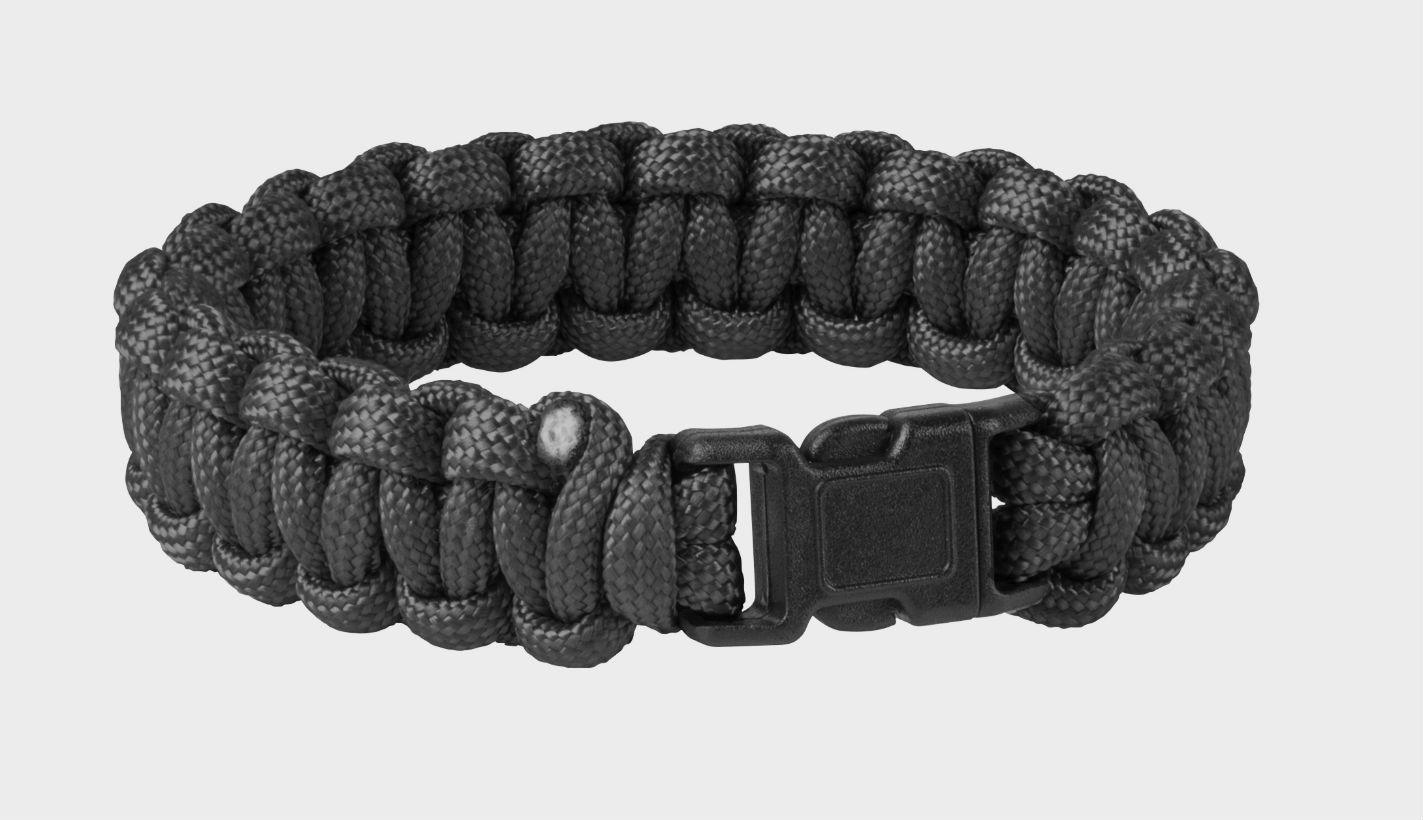 Original Army SURVIVAL BRACELET Paracord Black AC-SBR-NL-01.