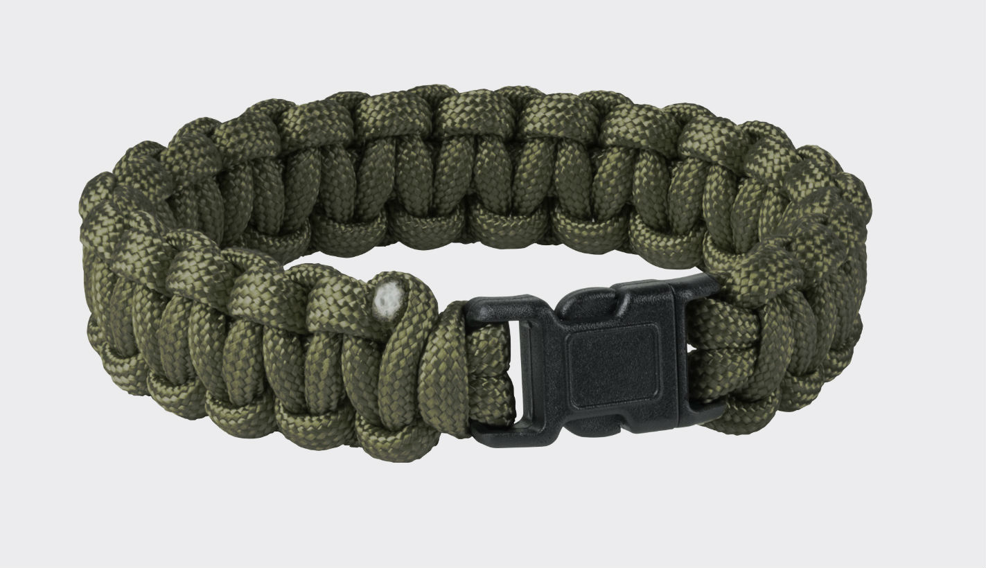 Original Army SURVIVAL BRACELET Paracord Olive Green AC-SBR-NL-02.