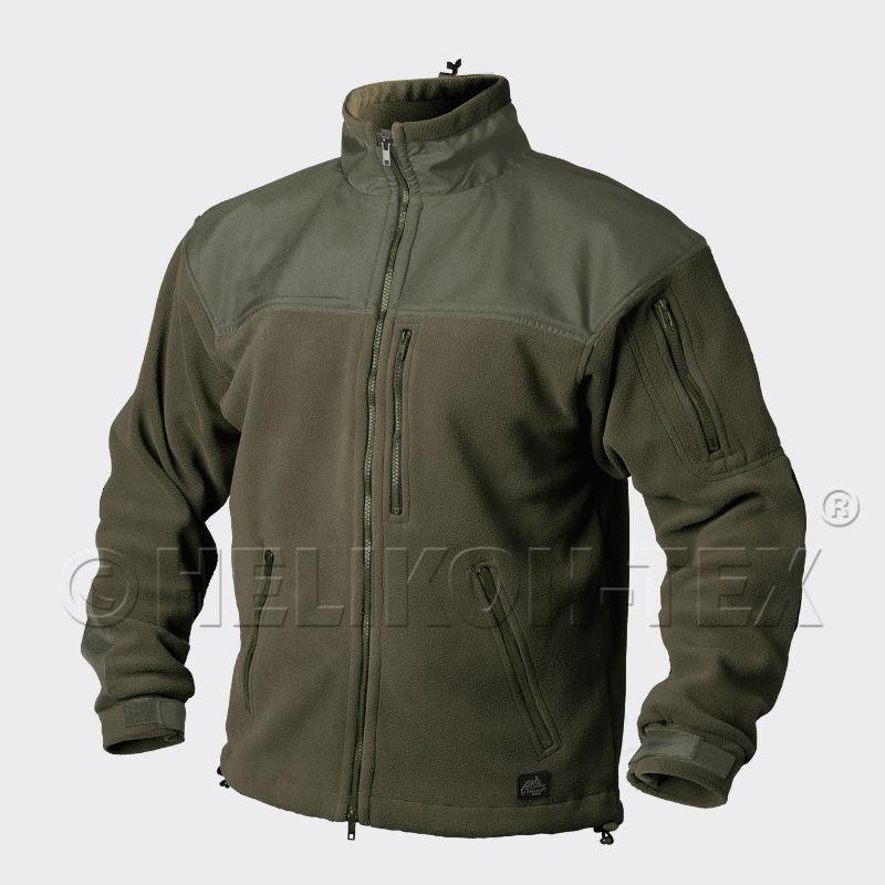 HELIKON-TEX CLASSIC ARMY Jacket Fleece Olive Green BL-CAF-FL-02 Helikon.