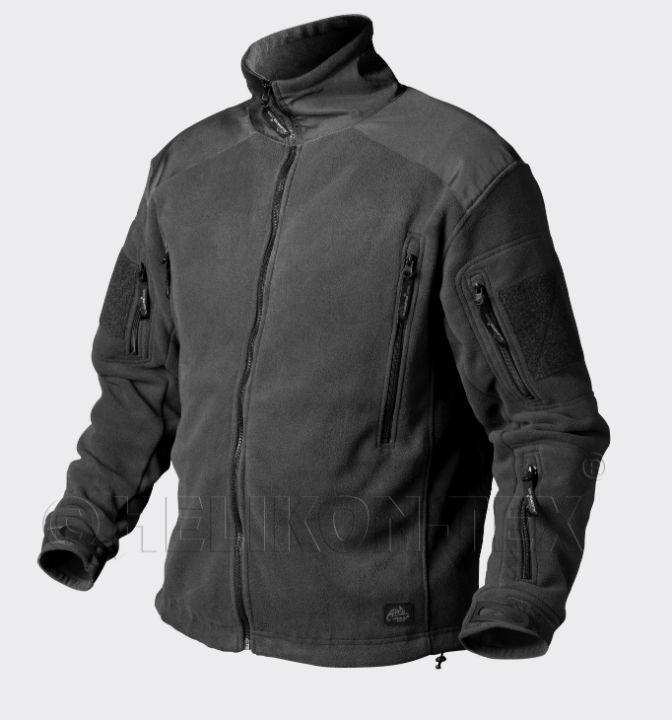 HELIKON-TEX LIBERTY Jacket  Double Fleece Black Schwarz BL-LIB-HF-01 Jacke.