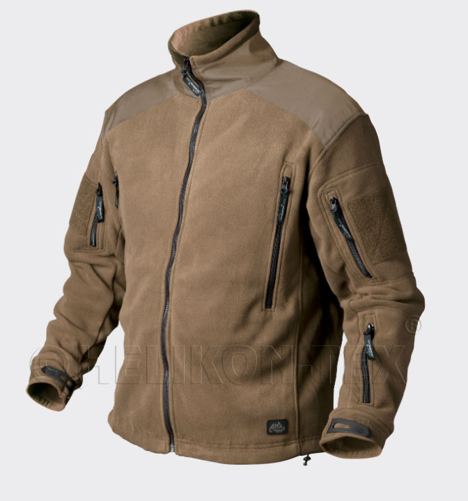 HELIKON-TEX LIBERTY Jacket Double Fleece Coyote BL-LIB-HF-11 Helikon Jacke.