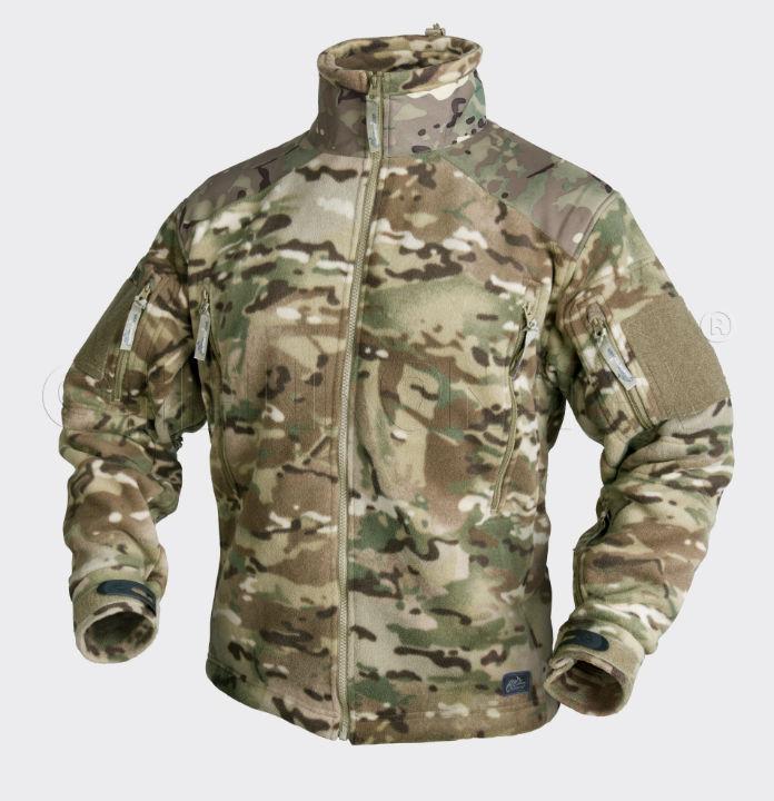 HELIKON-TEX LIBERTY Jacket  Double Fleece Camogrom BL-LIB-HF-14 Helikon Jacke.