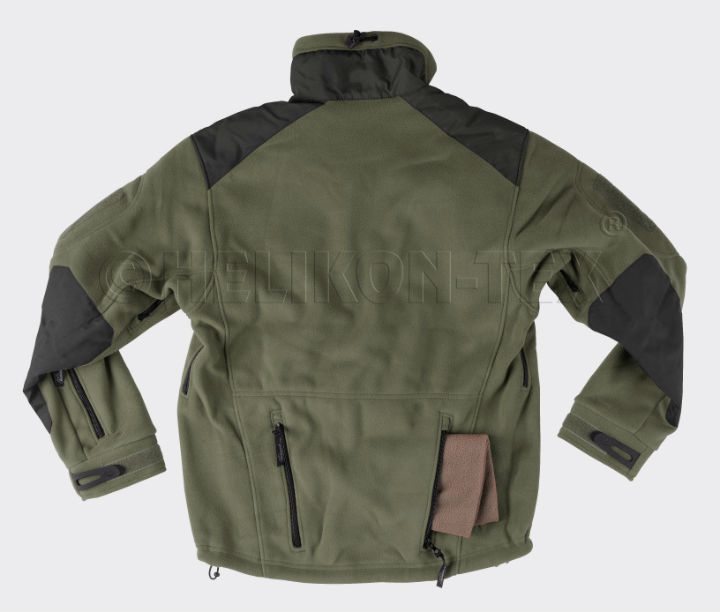 HELIKON-TEX LIBERTY Double Fleece Olive/Black BL-LIB-HF-16 Jacke.