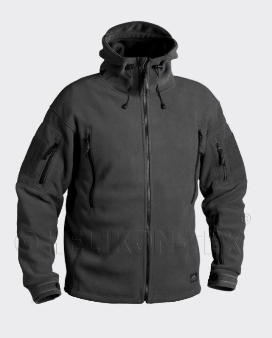 HELIKON-TEX PATRIOT Fleece 390g Black Helikon Jacke BL-PAT-HF-01.