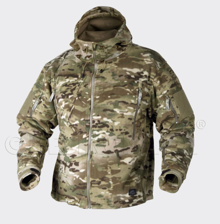 HELIKON PATRIOT Jacket Double Fleece 390g Camogrom Jacke BL-PAT-HF-14.