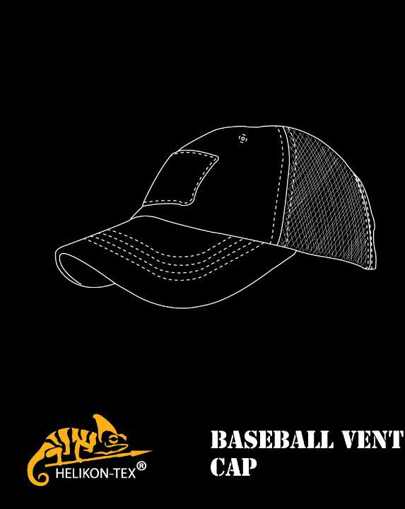 Helikon-Tex Baseball VENT Cap Ripstop Camogrom CZ-BBV-PR-14 Mütze Velcro.