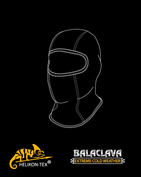 HELIKON-TEX Balaclava ComfortDry COYOTE Ski Mask Cold Weather CZ-KO2-FG-11.