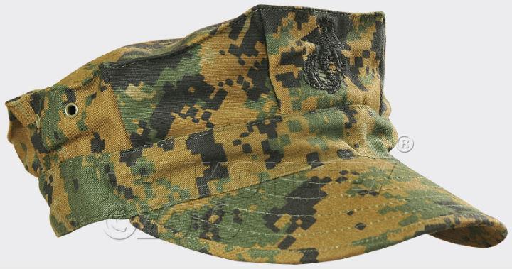 HELIKON-TEX USMC Cap PolyCotton Twill USMC Digital Woodland Mütze CZ-USM-PT-07.