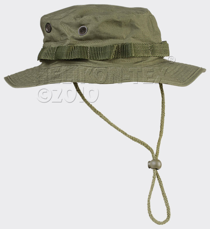 HELIKON-TEX  BOONIE Hat Cotton Ripstop Olive Green KA-BON-CR-02 OLIVE GRÜN.