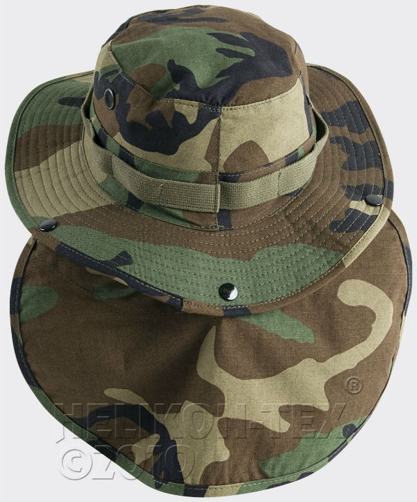 HELIKON-TEX  BOONIE Hat Cotton Ripstop US Woodland KA-BON-CR-03.