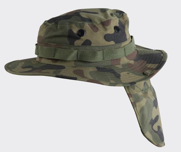 HELIKON-TEX BOONIE Hat PolyCotton Ripstop PL Woodland KA-BON-PR-04.
