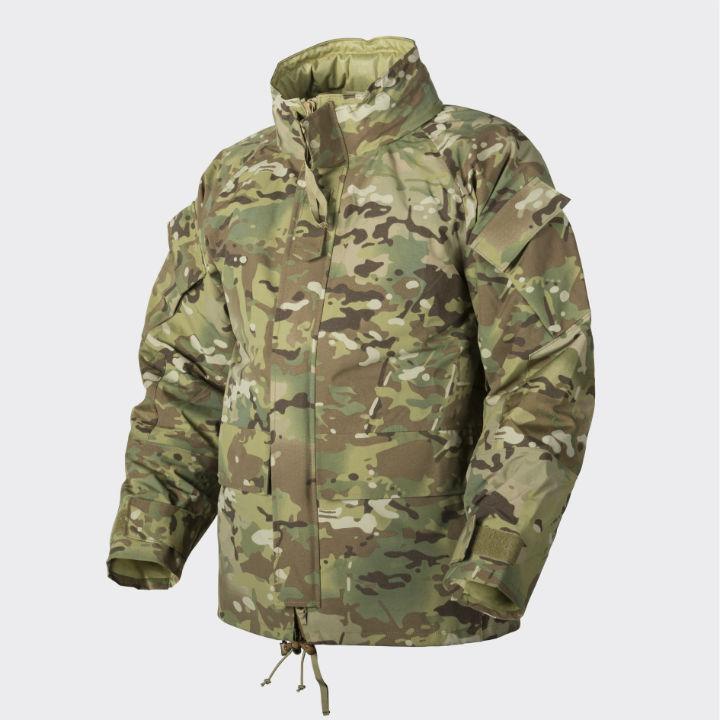 HELIKON-TEX ECWCS Gen II Jacket H2O Proof Camogrom Parka Wasserfest KU-EC2-NL-14
