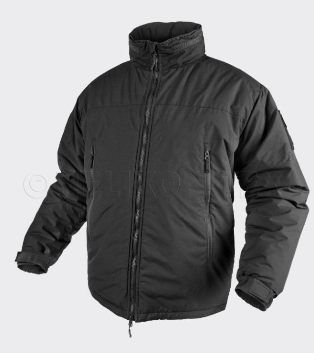 HELIKON LEVEL 7 Jacket Climashield Apex 100g Black KU-L70-NL-01 Jacke Schwarz.