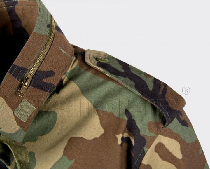 HELIKON-TEX M65 Jacket US Woodland KU-M65-NY-03 Jacke M 65 Helikon.