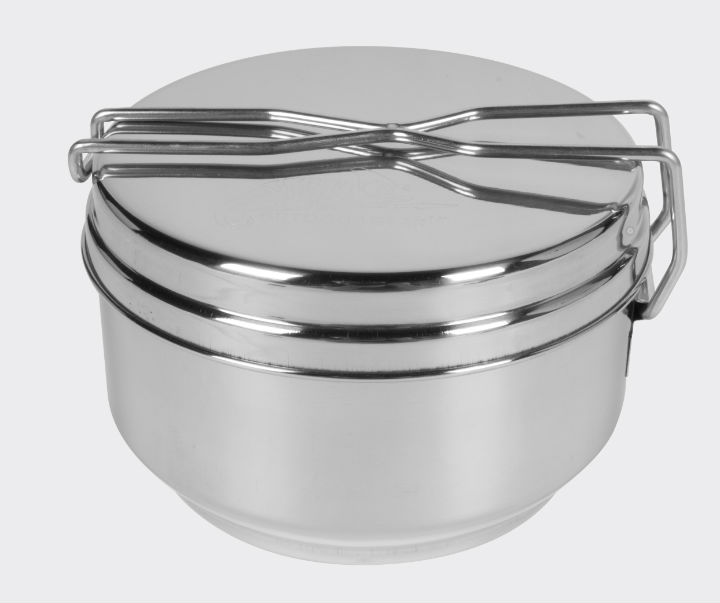 HELIKON-TEX KFS Set BW Mess Tin Stainless Steel Feldbesteck ME-MEN-SS-15.