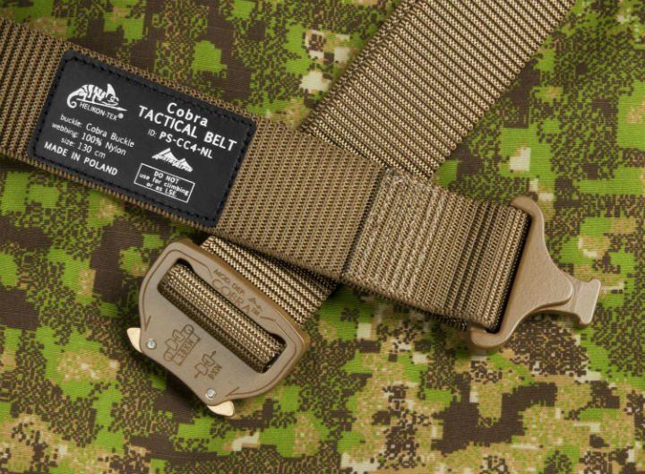 HELIKON-TEX COBRA (FC45) Tactical Belt COYOTE Tactical Gürtel. Size: L (130cm).