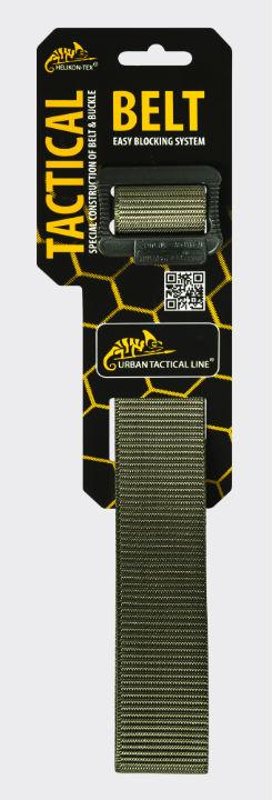 HELIKON-TEX Urban Tactical Gürtel Tactical Belt OLIVE GREEN. Size:XL (140cm).
