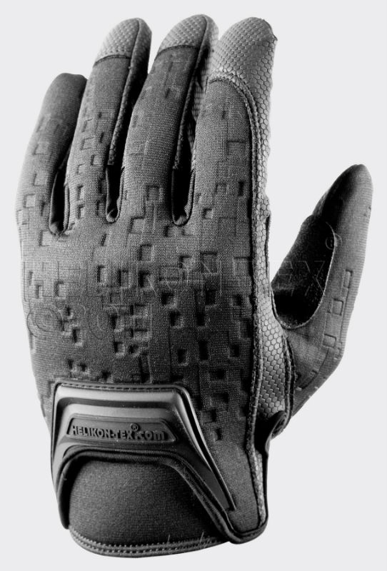 HELIKON-TEX URBAN TACTICAL LINE® Gloves Black Handschuche Helikon RK-UTL-PU-01.